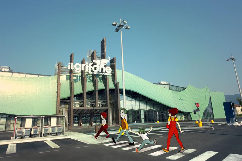 Al centro commerciale…